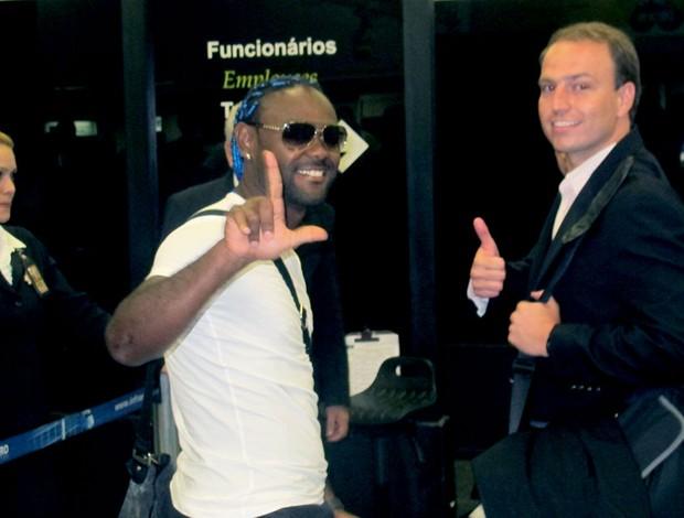 Vagner Love Diogo Souza (Foto: Janir Junior / Globoesporte.com)