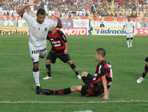 Gurany de Sobral x Ceará Campeonato Cearense 2 (Foto: Marilia Camelo/ Agência Diário)