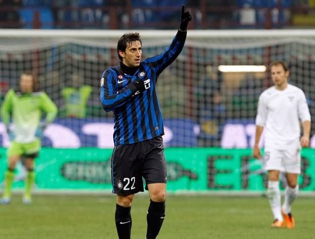 Diego Milito gol Inter de Milão (Foto: Reuters)