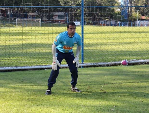 Raniere Silva dos Santos, goleiro do Nacional-MG (Foto: Divulgação Nacional-MG)