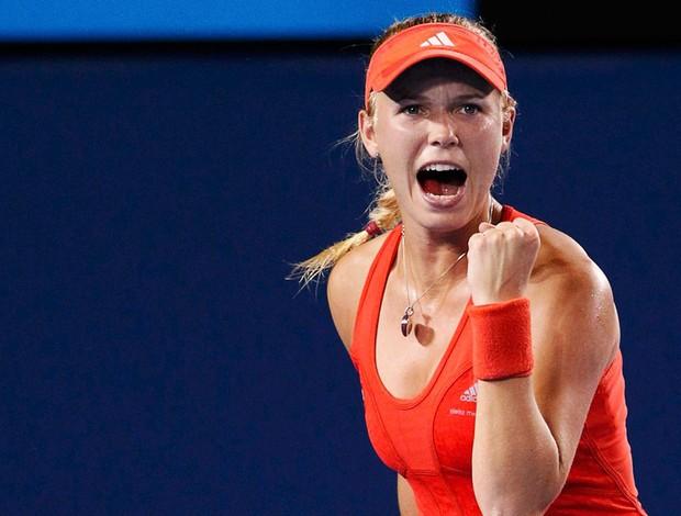 Caroline Wozniacki tênis Australian Open oitavas (Foto: Reuters)
