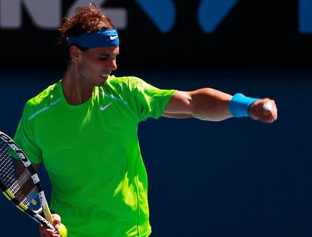Rafael Nadal tênis Australian Open oitavas (Foto: Reuters)
