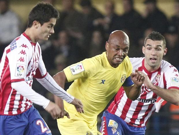marcos senna Villarreal x Sporting Gijón (Foto: EFE)