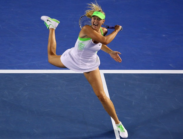 Maria Sharapova tênis Australian Open oitavas (Foto: Getty Images)