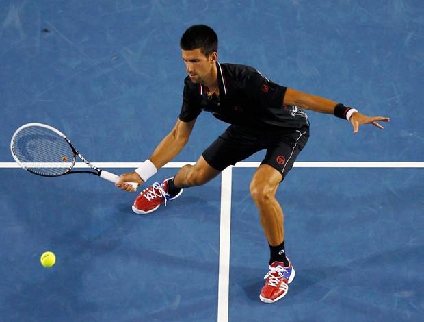 Novak Djokovic tênis Australian Open oitavas (Foto: Reuters)