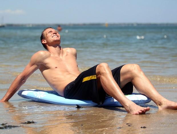 Australian Open tênis Tomas Berdych praia (Foto: Agência EFE)