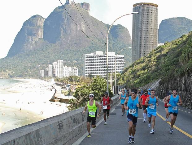 Belezas naturais atraem os corredores para a Maratona do Rio de Janeiro (Foto: Maurício Val / Fotocom.net)