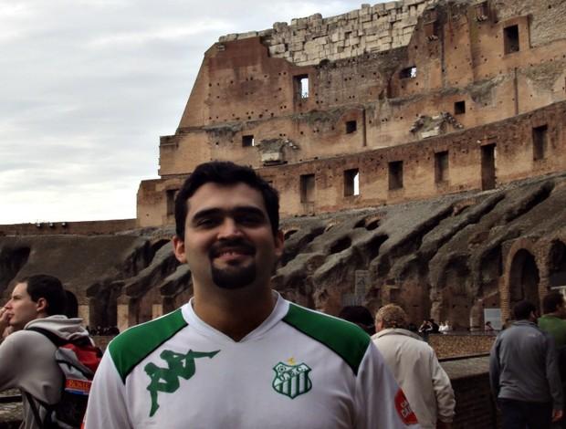 Flávio Gomide, acompanhou o Uberlândia por seis anos, na Europa (Foto: Arquivo Pessoal / Flávio Gomide)