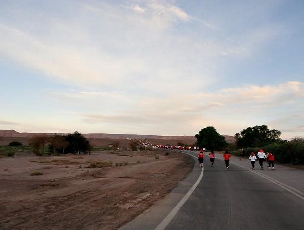 Turma das Gerais durante a prova no Deserto do Atacama (Foto: Carolina Tannús)