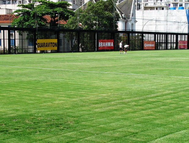 Gramado Botafogo General Severiano  (Foto: André Casado / GLOBOESPORTE.COM)