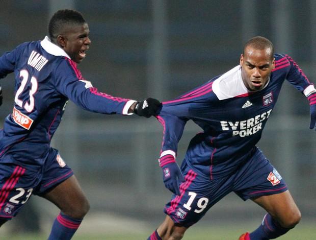briand Lorient x Lyon (Foto: Reuters)