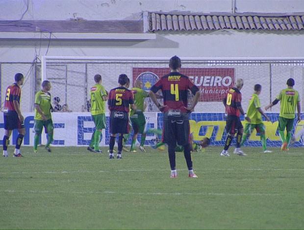 Salgueiro x Sport (Foto: Reprodução/TV Globo)