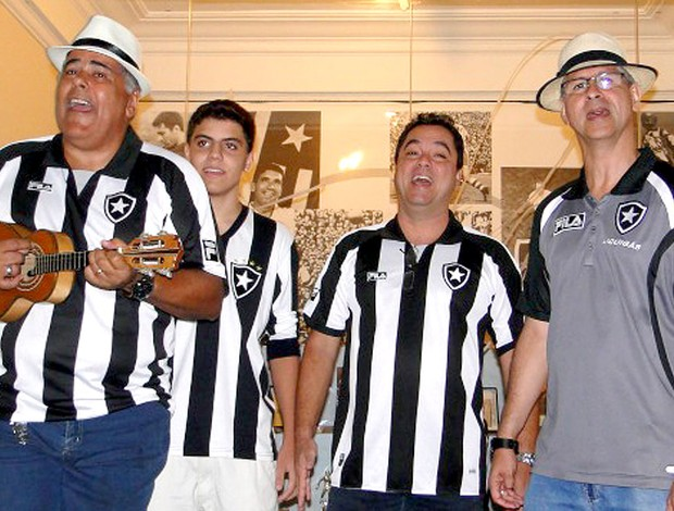 concurso de samba do Botafogo (Foto: Divulgação / Site Oficial do Botafogo)