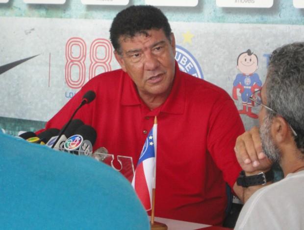 Joel Santana, ex-técnico do Bahia (Foto: Eric Luis Carvalho/Globoesporte.com)