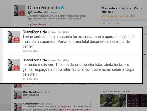 ronaldo  twitter (Foto: Reprodução)