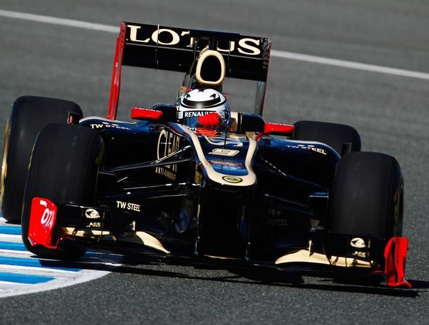 Kimi Raikkonen Lotus Jerez (Foto: Paul Gilham / Getty Images)