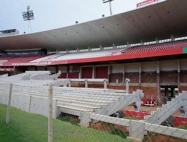 reforma Beira-Rio Inter (Foto: Diego Guichard / GLOBOESPORTE.COM)