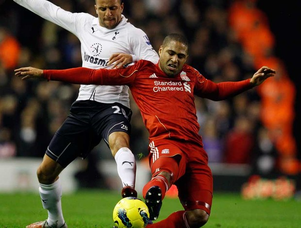 Johnson walker  liverpool x tottenham (Foto: Reuters)