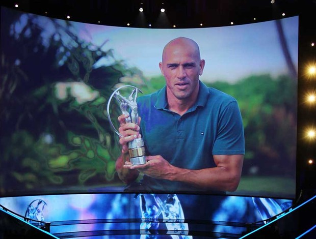 Kelly Slater prêmio Laureus (Foto: Getty Images)