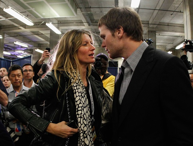 Super Bowl Tom Brady Gisele Bundchen (Foto: Getty Images)