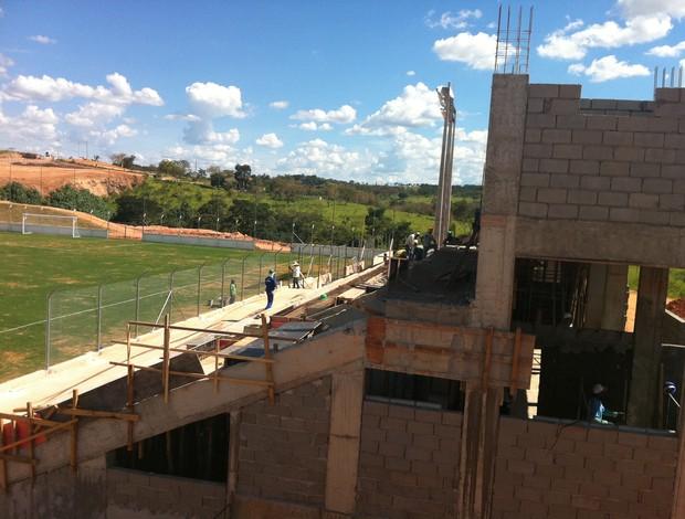 Arena do Calçado, em Nova Serrana (Foto: Globoesporte.com)