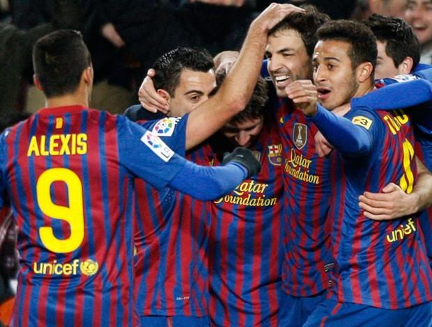 fabregas barcelona x valencia (Foto: Reuters)