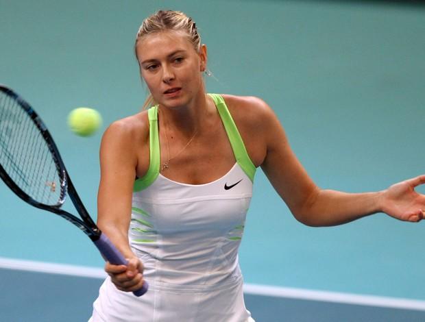 Maria Sharapova Paris tênis (Foto: AFP)