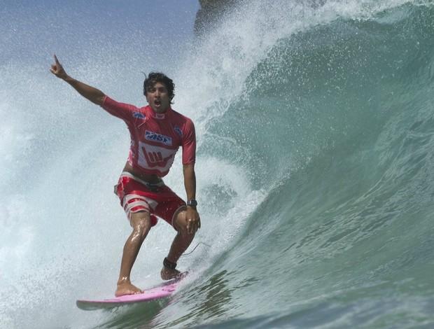 surfe Miguel Pupo campeão do WQS de Fernando Noronha (Foto: Daniel Smorigo / ASP South America)