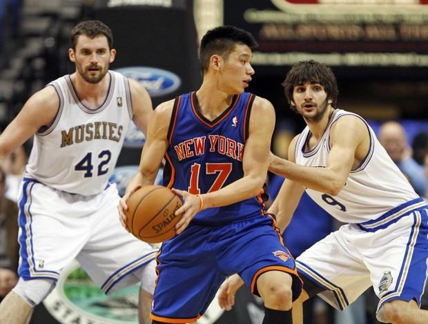 Jeremy Lin Knicks NBA basquete (Foto: Eric Miller / Reuters)