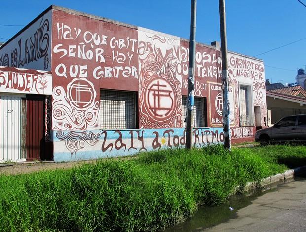lanus estádio casas (Foto: Janir Junior/Globoesporte.com)