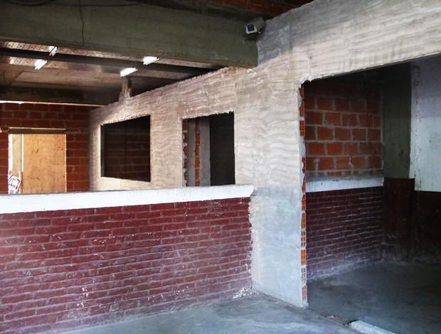 lanus obras estádio (Foto: Janir Junior/Globoesporte.com)