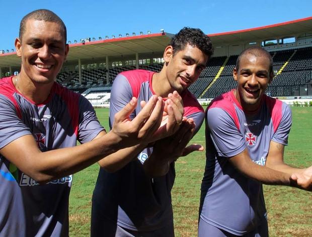jogadores do vasco (Foto: Gustavo Rotstein / globoesporte.com)