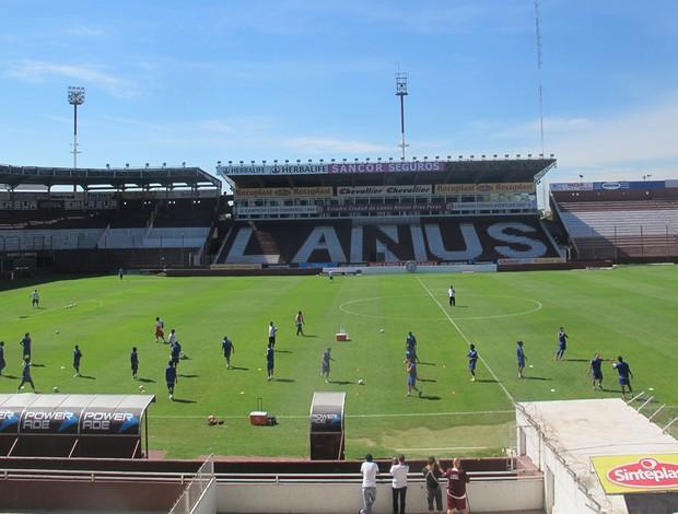 lanus estádio (Foto: Janir Junior/Globoesporte.com)