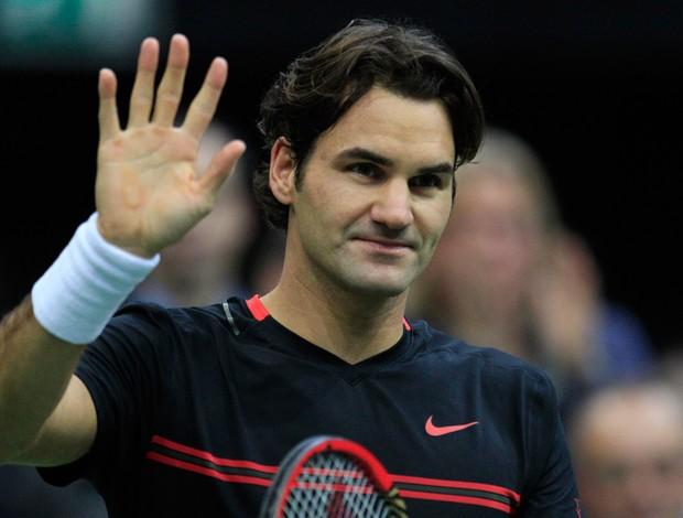 tênis Roger Federer ATP de Roterdã (Foto: AP)