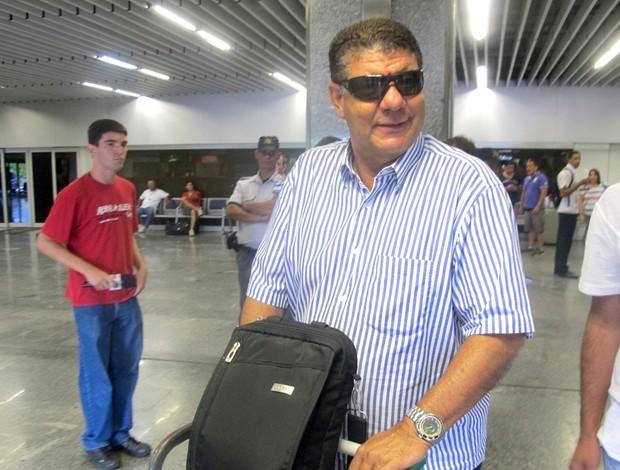 Joel Santana desembarque Flamengo (Foto: Richard Souza / Globoesporte.com)