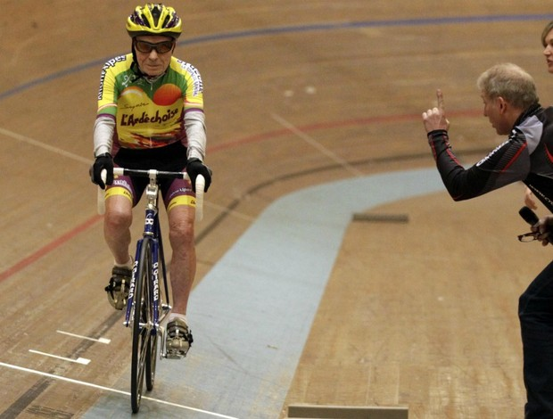 ciclismo Robert Marchand recorde 100 anos (Foto: Reuters)