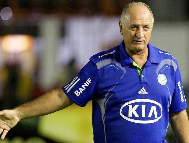 Felipão na partida do Palmeiras (Foto: Ag. Estado)
