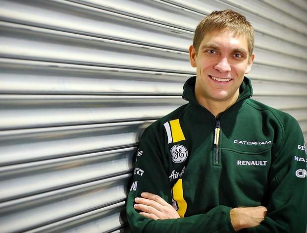 Vitaly Petrov novo piloto da Caterham na temporada 2012 (Foto: Divulgação)