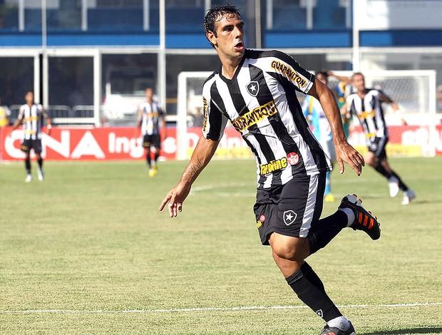 Herrera comemora gol do Botafogo contra o Macaé (Foto: Fernando Soutello / Divulgação AGIF)