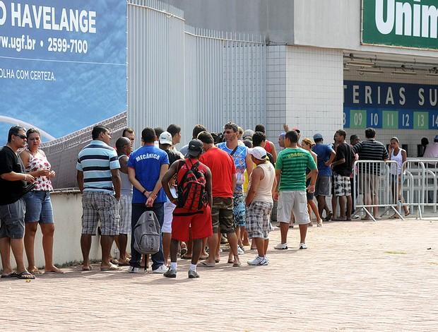 venda de ingressos Vasco e Flamengo (Foto: André Durão / Globoesporte.com)