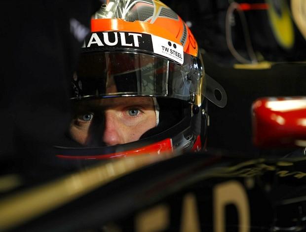 Romain Grosjean Lotus testes Barcelona Fórmula 1 (Foto: Divulgação)