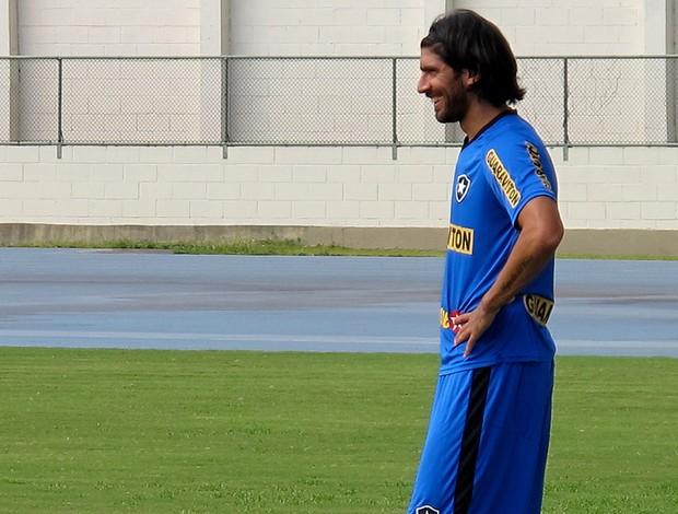 loco abreu botafogo treino (Foto: Thales Soares / Globoesporte.com)