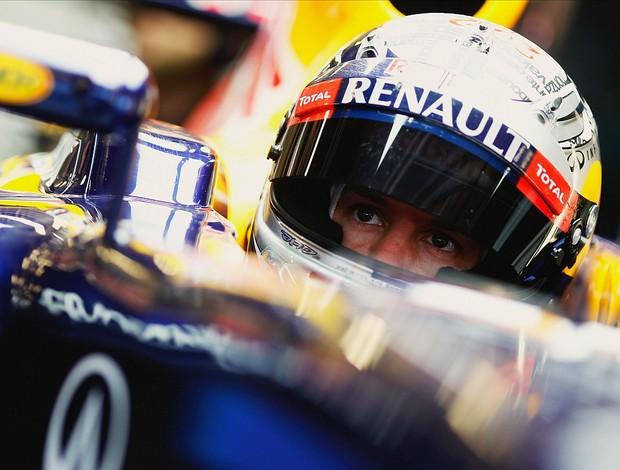 Sebastian Vettel RBR teste Barcelona (Foto: Getty Images)