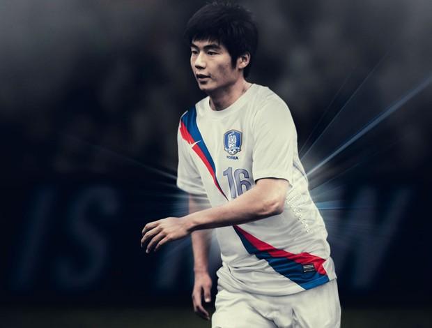 Korea camisa reserva (Foto  Divulgação Nike) 1253bd501051d