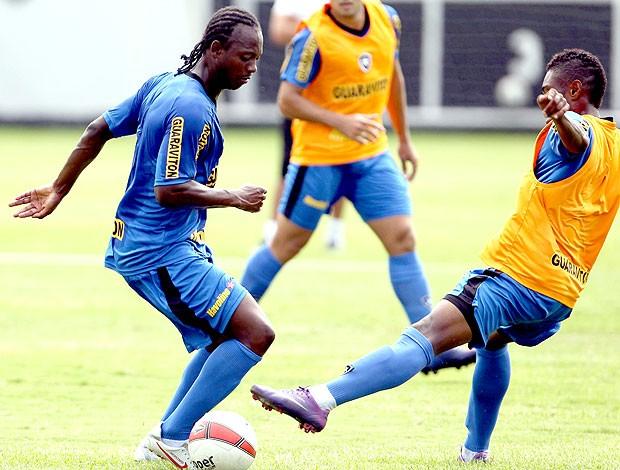 Andrezinho no treino do Botafogo (Foto: Jorge Wiliam / Agência O Globo)