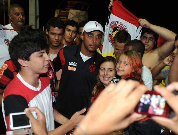 Deivid Torcida Flamengo Macaé (Foto: Alexandre Vidal / Fla imagem)