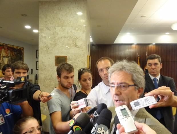 Zamin afirma que garantias ainda são insificientes (Foto: Tomás Hammes/Globoesporte.com)