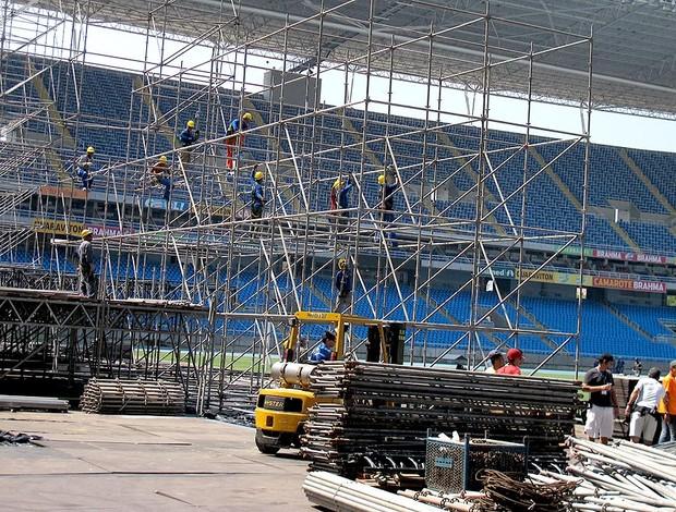 Festival show engenhão estádio (Foto: André Casado / Globoesporte.com)