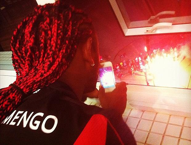 Vagner Love (Foto: Reprodução / Twitpic)