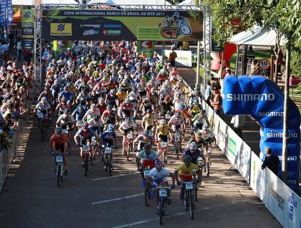 Copa Internacional de Mountain Bike de 2011, em Araxá (Foto: Divulgação / CIMTB)
